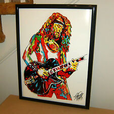 Ted Nugent The Amboy Dukes Guitar Rock Music Poster Print Wall Tribute Art 18x24