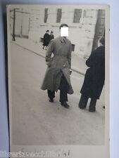 Vecchia fotografia di Salerno Corso Vittorio Emanuele Banca d Italia 1941 foto