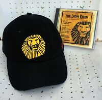 Lion King Hat and CD Bundle Original Cast Minneapolis Simba Timon Pumbaa Nala