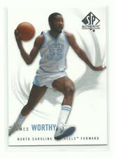 2010-11 SP Authentic JAMES WORTHY North Carolina Tarheel 52 Basketball Card # 15