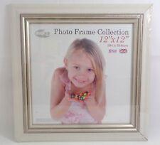 INOV8 Photo Frame Collection (304 mm x 304 mm) Cream Wood Frame