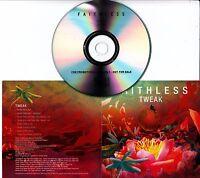 FAITHLESS Tweak Remixes 2010 UK 8-track promo test CD Tiesto Crookers