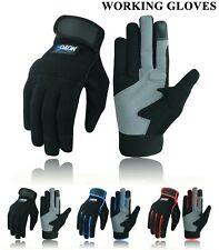Work Gloves Mechanics Hand Protection Tradesman Farmer's Gardening DIY Builders