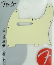 Fender Telecaster Pickguard Vert d'eau 8 trous - AH.25DO
