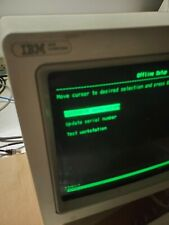 IBM 3476 Green Amber Twinax   Terminal Workstation 122 Keyboard