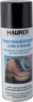 SPRAY IMPERMEABILIZZANTE per SCARPE PELLE TENDE TESSUTI OMBRELLONI MAURER 400 ML