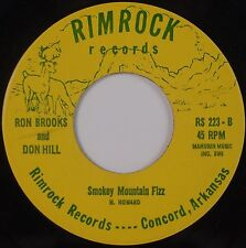 RON BROOKS & DON HILL: Take Me Back '67 RIMROCK Country Bluegrass 45 NM Hear