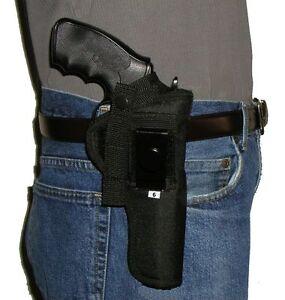 Belt / Hip Holster Smith & Wesson Model 19 S&W 6 in barrel Revolver .357