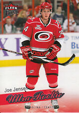08-09 FLEER ULTRA ROOKIE RC #235 JOE JENSEN HURRICANES *3688