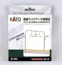 New Kato 23-062 *Double Track Wide Arch Catenary Pole