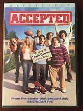 Accepted (DVD, 2006, Widescreen) LIKE NEW, FREE SHIPPING!!