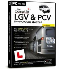The Complete LGV and PCV Driver CPC Case Study Test PC Retail PC DVD Rom