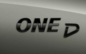 Genuine MINI Piano Black One D Badge Emblem Plaque F54/55/56/57/60 51142465247