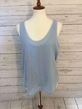 New Zara WB Collection Light Blue Sleeveless Top KjaX