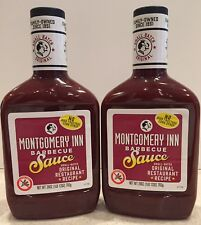 Montgomery Inn Barbecue Sauce: TWO (2) 28oz bottles