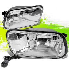 CLEAR LENS OE BUMPER FOG LIGHTS+SWITCH PAIR KIT FOR 09-12 DODGE RAM 1500-3500