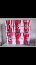 6 Bicchieri Coca Cola Europei 2012 Coke Collezione