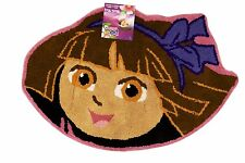 "Dora the Explorer Face Bath Rug 20"" x 30"" Round area mat Bedding skid resistant"