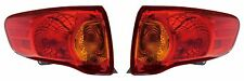 2009 2010 TOYOTA COROLLA TAIL LIGHTS PAIR LEFT AND RIGHT (USA BUILT ONLY)