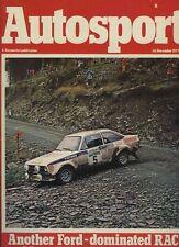 Autosport December 1st 1977 *RAC Rally*