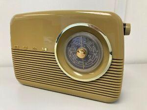 Vintage Bush Transistor Radio FM MW LW Tested Working Includes Batteries E54