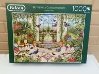 Falcon De Luxe 1000 piece jigsaw puzzles - Butterfly Conservatory