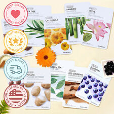 THE FACE SHOP Real Nature Mask Sheet 12PCS( 1of each)  [US SELLER]
