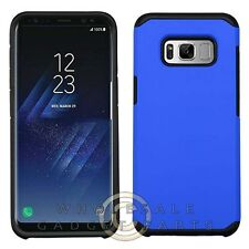 Samsung GS8 Advanced Armor Case - Blue/Black Cover Shell Protector Guard Shield