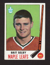 Brit Selby Toronto Maple Leafs 1969-70 Topps Hockey Card #48 EX/MT- NM