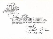 Richard Nixon Sends Presidential Glasses to Publisher Helen Copley--TNS