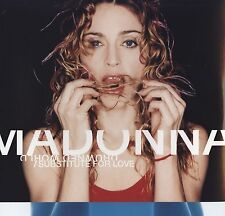 MADONNA - DROWNED WORLD/SUBSTITUTE FOR LOVE - CD ORIGINALE ** USATO