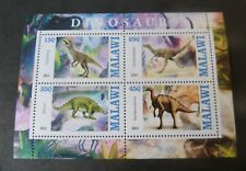 Malawi 2013  Dinosaurs Prehistoric Animals sheetlet   MNH  unmounted mint UM
