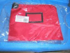 Locking Document Hipaa Bag 11x15 w/4keys Red