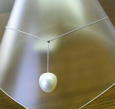 Gioielli di lusso perla bianchi oro bianchi