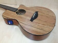 Caraya GYPSY-GC Thin-body OM Type Acoustic Guitar,Cutaway w/Built-in EQ+Free Bag