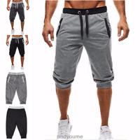Men Sports Casual Shorts Summer Pocket Short Trousers Pants Gym Jogger Jogging '