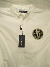 Polo Ralph Lauren Cotton Oxford Cloth NY City Champs Sport Shirt NWT XLT $145