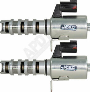 APDTY 119448x2 VVT Variable Valve Timing Solenoid Pair (Intake & Exhaust)