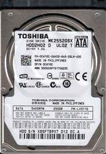 MK2552GSX HDD2H02 D UL02 T Toshiba 250GB