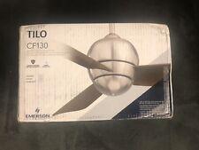 """EMERSON CF130WW TILO 30"""" MODERN CEILING FAN"""
