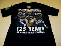 NOTRE DAME FIGHTING IRISH ADULT EMBROIDERED BUTTON DOWN TWILL SHIRT NEW