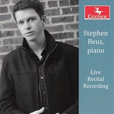 Stephen Beus Live Recital Recording (Cd Centaur 2014)
