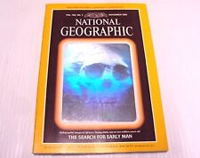 National Geographic Magazine Nov November 1985 The Search For Early Man w/Map