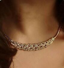 14K Rose Gold Diamonds Women's Necklace Chain Pendant Jewelry For Women Gifts