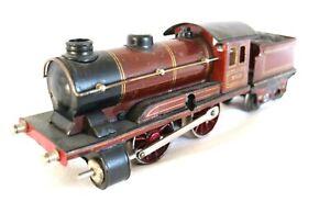 AC1823D: Vintage Marklin  0 Gauge Clockwork 0-4-0  Loco & Tender R950