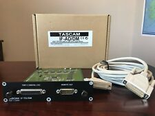 Tascam IF-TD/DM card for DM4800 DM3200 with cord (no box included)