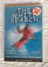 THE WHITE SEARCH - STARRING: JEAN-CLAUDE KILLY (DVD) R-2, 4, LIKE NEW, FREE POST