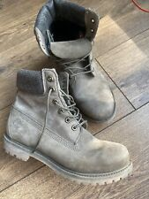 VGC Timberland Women 6 Inch Premium Brown Leather Boots 7 40 US 9