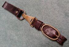 Wwii Brown Dagger Hanger 100% Original, early Nickle silver-very nice-Bid now!