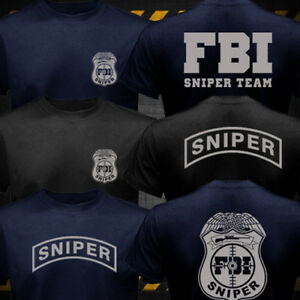 New FBI Sniper Team T-shirt